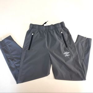 Umbro Gray Jogger Pants-S(6/7)